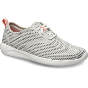 Crocs LiteRide Mesh Lace Zapatillas Mujer, gris